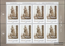 Finland - Aland 408Klb Sheetlet (complete Issue) Unmounted Mint / Never Hinged 2015 My Stamp - Aland