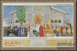 Finland - Aland 405 (complete Issue) Unmounted Mint / Never Hinged 2015 Paintings - Aland