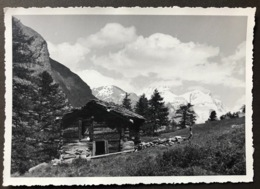 Zermatt Umgebung Eine Hütte/Fotokarte 10x15cm - VS Valais