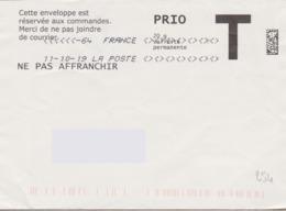 Toshiba Du 11-10-19 (suffixe 64) 7 Losanges Signes Inférieurs & Supérieurs Absence De Paramétrage - Marcofilie (Brieven)