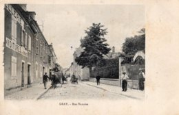 S3132 Cpa 70 Gray - Rue Vanoise - Gray
