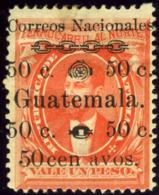 Guatemala. Sc #27h. Unused. * - Guatemala