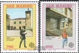 San Marino 1432-1433 (complete Issue) Unmounted Mint / Never Hinged 1990 Europe - San Marino