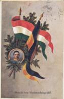 Kaiser Karl I. Von Österreich, König Karl IV. Von Ungarn + Weihnachtsgruss + K.u.K.Armee , Feldpost ,   Habsburg - Familles Royales