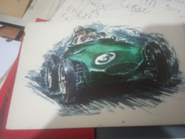 WANWALL 4CILINDRI 2440 Cc 1958 AUTO CAR CORSE F1     N1980 HG1530 - Grand Prix / F1