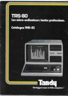 Catalogue TRS-80 1981-1982 ( Radio Shack - Tandy ) - Ciencia & Tecnología