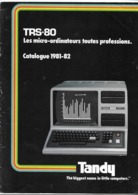 Catalogue TRS-80 1981-1982 ( Radio Shack - Tandy ) - Non Classés