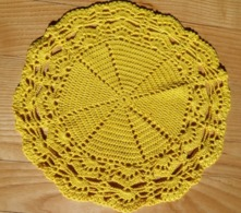 Lot De 3 Napperons Au Crochet - Loisirs Créatifs