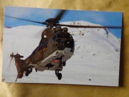 SWISS AIR FORCE  SUPER PUMA   T-322 - Hubschrauber