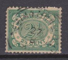 Nederlands Indie Dutch Indies 43 SPECIAL CANCEL Cijfer 1902 ; NETHERLANDS INDIES PER PIECE - Niederländisch-Indien