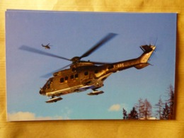SWISS AIR FORCE  COUGAR   AS532UL  T-332 - Hélicoptères