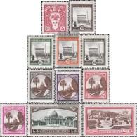 Vatikanstadt 21-29,34,37 Fine Used / Cancelled 1933 Landesmotive - Gebruikt