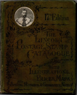 Lincoln Stamp Catalogue Ab. 1909 256++ Pages, 26 Pages Detailed Maps Add. (close-up), Very Good Condition 1911.0401 - Postzegelcatalogus