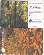 ROMANIA - Forest, Chip GEM3.3, 08/99, Used - Landschaften