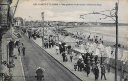 CPA - Fr. > [85] Vendée > Sables D'Olonne  - Vue Générale Du Remblai à L'Heure Du Bain - Daté 1919 - TBE - Sables D'Olonne