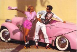 D'après Photo By FRANCIS GIACOBETTI (auto Voiture AUBURN ? Roller Skate Cigarette)(Grand Format 17  X 12 Cms) - Illustrateurs & Photographes