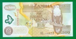 Zambia 500 Kwacha 2008 P43f UNC - Zambia