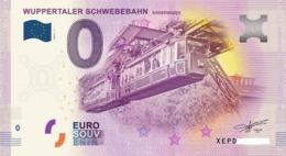 Billet 0 Euro ALLEMAND WUPPERTALER 2017.1 - Specimen