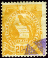 Guatemala. Sc #41. Used. - Guatemala