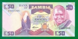 Zambia 50 Kwacha P28 UNC - Zambia