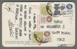 C2821 MEXICO Postal History 1990 MEXICO EXPORTA CASCADAS DE AGUA AZUL CHIAPAS (m) - Messico