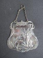 MEDAILLE BELGIQUE (V1926) VILLE DE BRUXELLES 1897 (3 Vues) Exposition * St Michel Terrassant Le Dragon - België