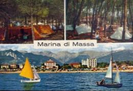 Marina Di Massa - 20 - Formato Grande Viaggiata Mancante Di Affrancatura – E 14 - Massa