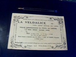 Buvard La Vedalice Lotion Végétale Parfumée Contre Les Poux - Buvards, Protège-cahiers Illustrés