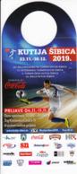 Croatia 2019 / Football, Futsal Tournament Kutija Sibica Zagreb / Advertising, Hanging Chad - Advertising