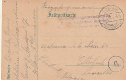 Correspondance De Soltau Vers Etterbeek - Théophile Iliaens - Artillerie Forteresse De Namur  ( 2 Cartes ) - Prisonniers