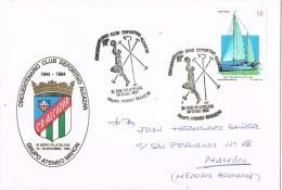 14171. Carta Exposicion MAHON (Menorca) 1994. Club Deportivo Alcazar - 1931-Hoy: 2ª República - ... Juan Carlos I