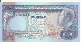 SAO TOME ET PRINCIPE 1000 DOBRAS 1993 UNC P 64 - San Tomé E Principe