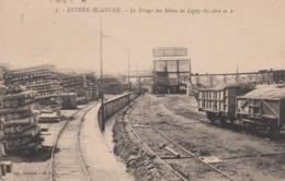 ESTREE BLANCHE  62 ( LE TRIAGE DES MINES DE LIGNY LEZ AIRE ) TRAIN MINEURS MINE - Other Municipalities