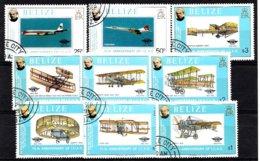Belize 1979 Mi.nr: 420-428 Flugzeuge  Oblitérés / Used / Gestempeld - Vliegtuigen