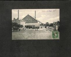 52 - DONJEUX - Cour De La Cimenterie - 1915 - Frankreich