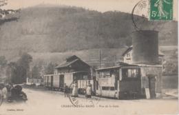 CPA Charavines-les-Bains - Vue De La Gare (animation Avec Très Beau Plan Du Tramway) - Charavines