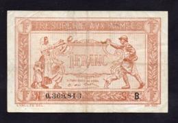 Trésorerie Aux Armées- 1 Franc - Série B - TTB+ - Cote 30€ - Tesoro