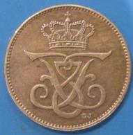 Danemark, Frederik VIII, 2 øre 1907,  TTB+ - Denemarken