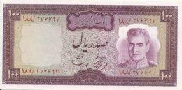 IRAN 100 RIALS ND1971-73 UNC P 91 A - Iran