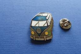 Pin's,Auto,VW Volkswagen,Bully,blau-grün - Volkswagen