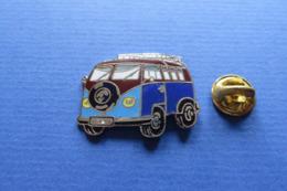 Pin's,Auto,VW Volkswagen,Bully,blau,bleu - Volkswagen