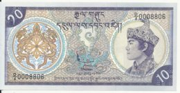 BHOUTAN 10 NGULTRUM ND1992 UNC P 15 - Bhutan