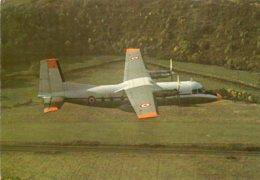 Nord 262  -  Avion De Transport Court Courrier -  Armée De L'Air   -  Carte Postale - 1946-....: Ere Moderne