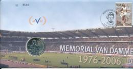 BELGIUM FDC COIN COVER MEMORIAL VAN DAMME - FDC
