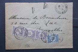 Belgique-Belge: 1929 To Brucelles (#TU7) - 1929-1941 Big Montenez