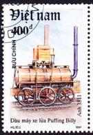 Vietnam - Lok Puffing Billy (1811) (MiNr: 2323) 1991 - Gest Used Obl - Vietnam