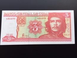 CUBA P127 3 PESOS 2004 UNC - Cuba