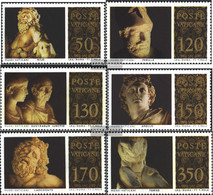 Vatikanstadt 705-710 (complete Issue) Unmounted Mint / Never Hinged 1977 Sculptures - Vatican