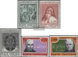 Vatikanstadt 610-612,613-614 (complete Issue) Unmounted Mint / Never Hinged 1972 Bessarione, Orione - Vatican