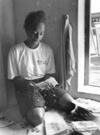 Photo Madagascar Fabrication Artisanale De Papier à Ambalavao, Au Sud-ouest De Fianarantsoa 1998 Vivant Univers - Afrika